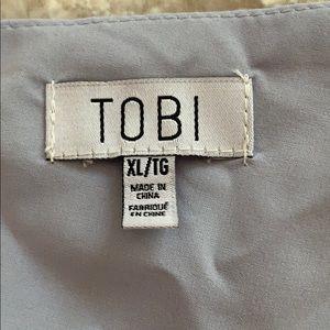 Tobi Tops - Purple Leopard Crop Top